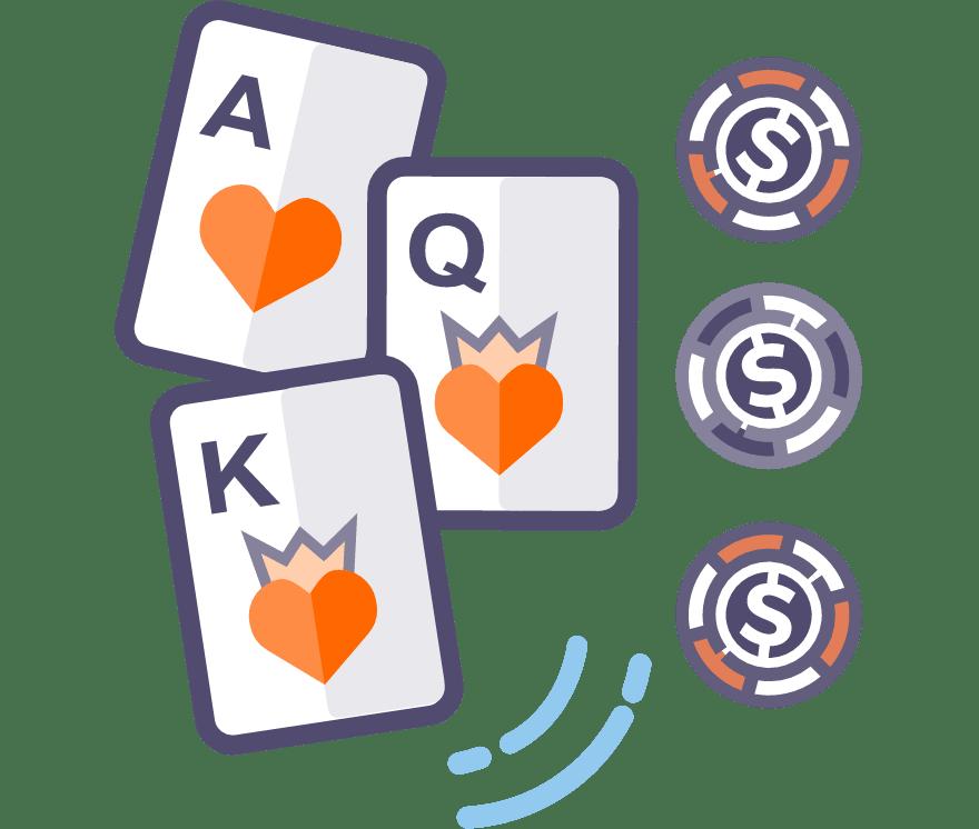 Los 58 mejores sitios de Casino de Póker de tres cartas en línea en Columbia