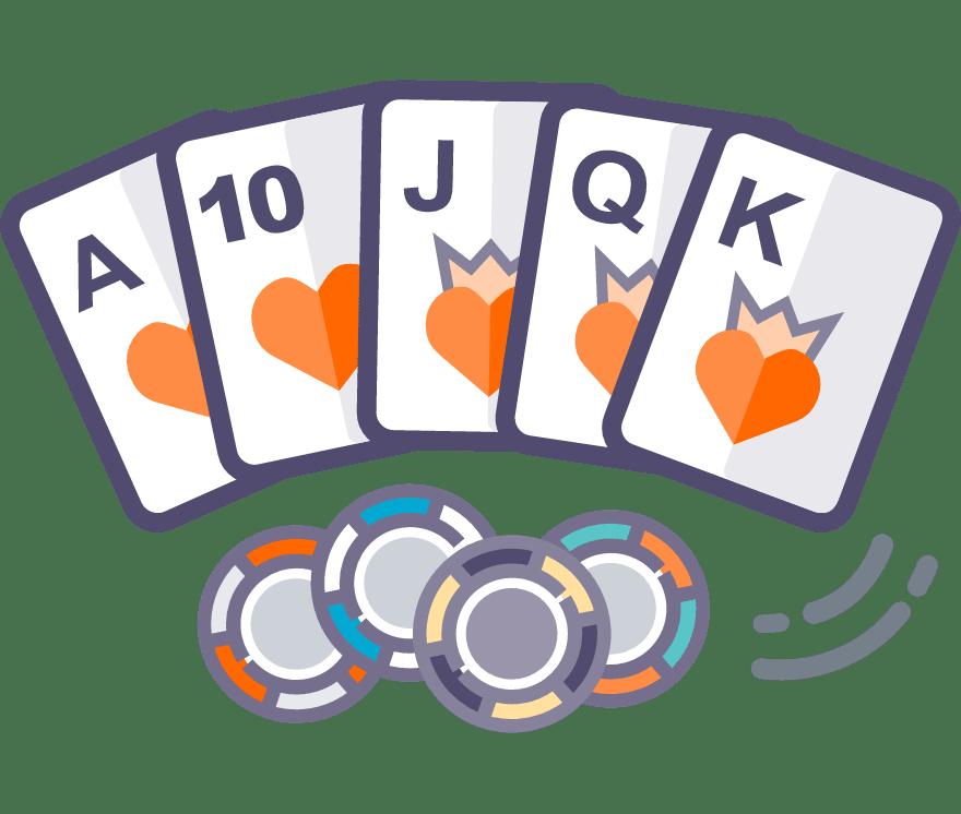 Los 52 mejores sitios de Casino de Texas Hold'em en línea en Columbia